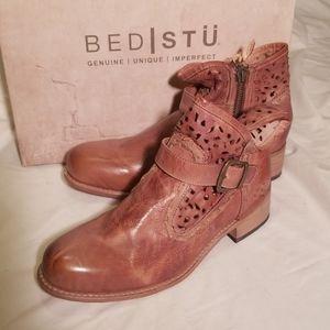 Bed Stu NIB Heather Booties Boots Size 9